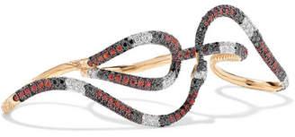 Gucci 18-karat Gold Multi-stone Ring