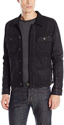 William Rast Men's Erwin Denim Trucker Jacket