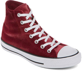 Converse Chuck Taylor All Star High Top Velvet Womens Sneakers