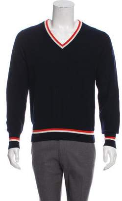 Michael Bastian Cashmere V-neck Sweater