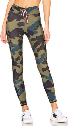The Upside Army Camo Midi Pant