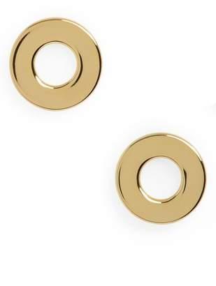 Gorjana Jagger Cutout Circle Stud Earrings