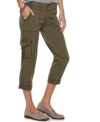 Star Wars Sonoma Goods For Life Women's SONOMA Goods for Life Ultra Comfortwaist Utility Capri Pants