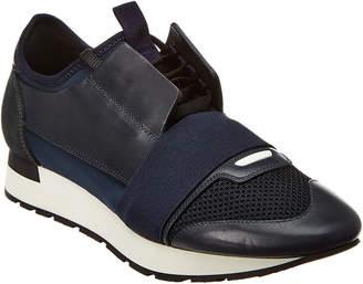 Balenciaga Suede & Leather Sneaker