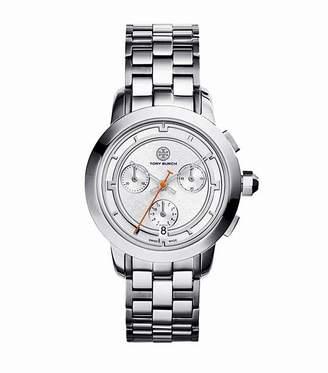 Tory Burch Women's 37mm Steel Bracelet & Case Swiss Quartz Watch TRB1001