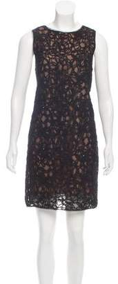 Theyskens' Theory Embellished Mini Dress