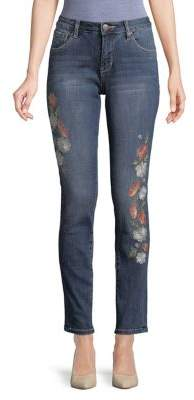 Jag Sheridan Embroidered Slim Jeans