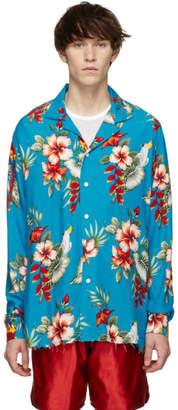 Rhude Multicolor Birds of Paradise Hawaiian Shirt