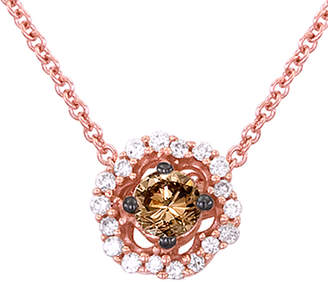 LeVian Le Vian 14K Rose Gold 0.27 Ct. Tw. Diamond Necklace