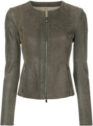Drome fitted biker jacket