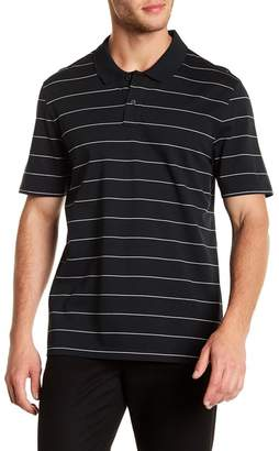 Vince Pencil Striped Polo Shirt