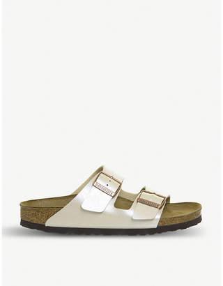 Birkenstock Arizona strappy pearlescent sandals