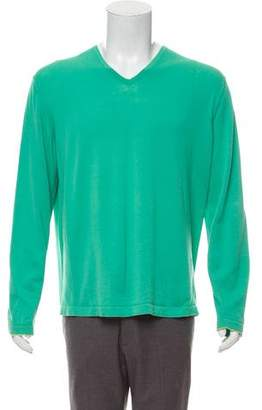 Malo Lightweight V-Neck Sweater