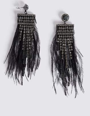 Marks and Spencer Glitz Drop Earrings