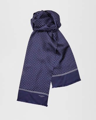 Ted Baker LYSCARF Micro geo print scarf