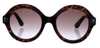 Valentino Rockstud Round Sunglasses