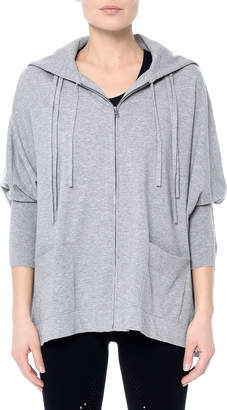 Beverly Zip-Front Poncho
