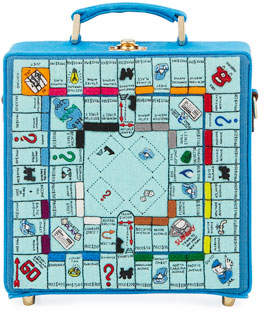Olympia Le-Tan Paris Monopoly Game Board Box Shoulder Bag
