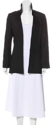 Theyskens' Theory Long Silk Blazer