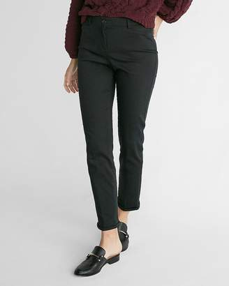 Express Mid Rise Straight Chino Pant