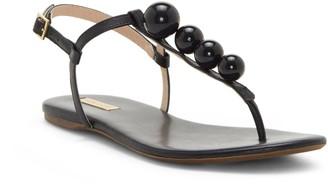 Abrielle Embellished T-strap Sandal