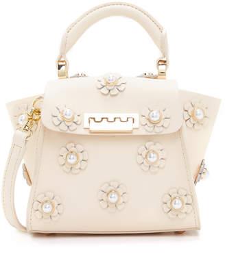 ZAC Zac Posen Eartha Floral Top Handle Mini Cross Body Bag $295 thestylecure.com
