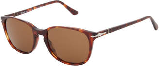 Persol PO3133 Tortoiseshell-Look Polarized Square Sunglasses