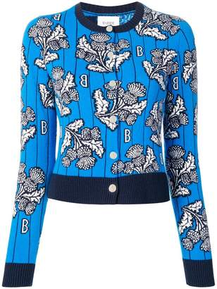 Barrie cashmere intarsia sweater