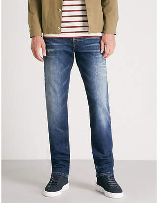 True Religion Geno No Flap relaxed slim-fit relaxed jeans
