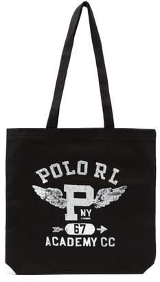 Polo Ralph Lauren Logo Print Tote - Mens - Black