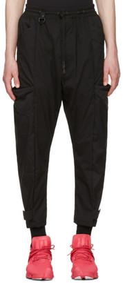 Y-3 Black Minimalist NLN Trousers $420 thestylecure.com