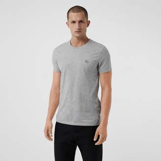 Burberry Cotton Jersey T-shirt , Size: M, Grey