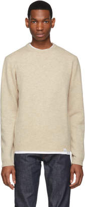 Norse Projects Beige Lambswool Sigfried Sweater