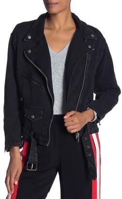 Fate Moto Front Zip Jacket