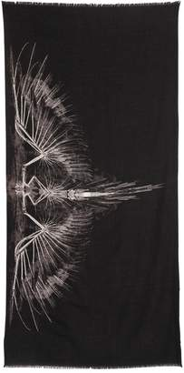 Marcelo Burlon County of Milan Antofalla Printed Wool Knit Scarf
