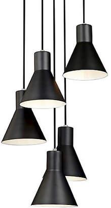 One Kings Lane Towner 5-Light Pendant - Brushed Nickel