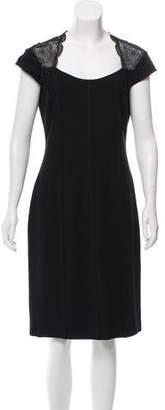 Blumarine Embellished Knee-Length Dress