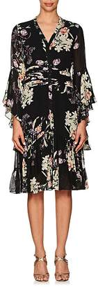 By Ti Mo byTiMo Women's Floral Crepe Bell Sleeve Dress