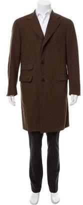 Boglioli Wool Overcoat