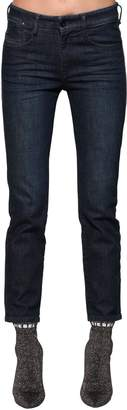 Diesel Rifty Mid Rise Slim Stretch Denim Jeans