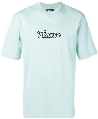 Thames logo print T-shirt