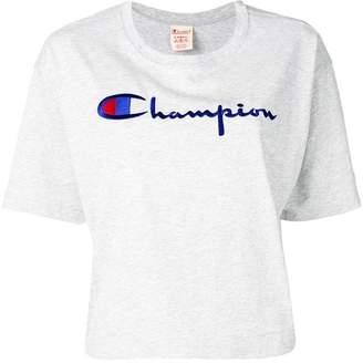 Champion logo print loose T-shirt