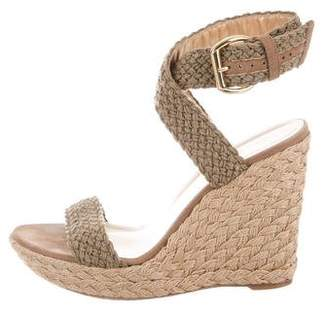 Stuart Weitzman Braided Platform Wedges