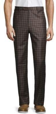 Zanella Plaid Fleece Pants