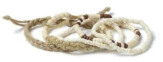 Topman Mens White Beaded Bracelet Pack*