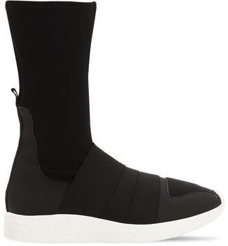 Fessura COTTON BLEND SLIP-ON SNEAKER BOOTS