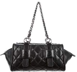 Chanel Chanel Quilted Lambskin Bowler Bag