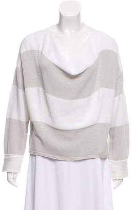 Les Copains Striped Knit Sweater