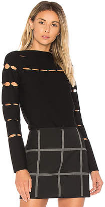 Bailey 44 Serene Long Sleeve Sweater in Black $188 thestylecure.com