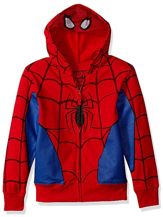 Freeze Boys 4-20 Costume Hoodies Spiderman Hoodie-Big Kid Boys